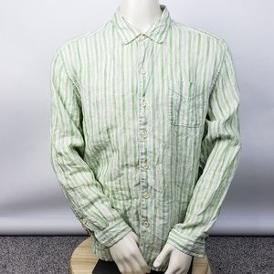 Tommy Bahama Relax long sleeve striped shirt linen